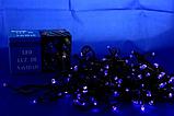 Гирлянда светодиодная Xmas LED 100 B-7  Синяя, фото 3