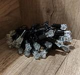 Гирлянда разноцветная кристалл 40LED 5м (флеш) Черный провод RD-7104 | Новогодняя светодиодная гирлянда RGB, фото 2