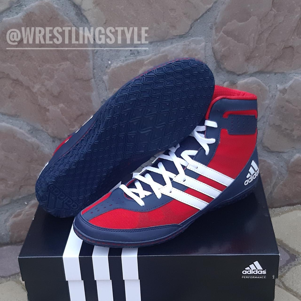 Борцовки, боксерки Adidas Mat Wizard 3. Обувь для борьбы, бокса.