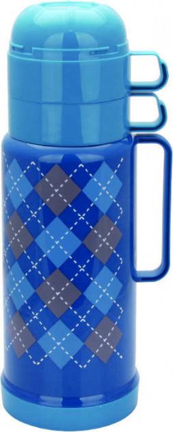 Вакуумний термос зі скляною колбою Con Brio CB-352 (1000 мл) | термочашка Con Brio | термос 1,0 л синій