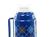 Вакуумний термос зі скляною колбою Con Brio CB-352 (1000 мл) | термочашка Con Brio | термос 1,0 л синій, фото 2