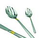 Набір столових приладів Con Brio CB-3912 з 24 предметів нержавіюча сталь | ложки, виделки, ножі Con Brio, фото 2