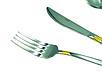 Набір столових приладів Con Brio CB-3912 з 24 предметів нержавіюча сталь | ложки, виделки, ножі Con Brio, фото 3