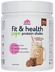 Растительный протеин Primebar Fit & Health VEGAN Protein Shake Шоколадное Печенье (550 грамм)