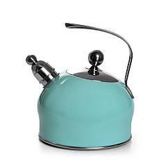 """Чайник для кипячения воды """"Paloma"""" 22х19х23см/2500мл из нержавеющей стали Fissman"""