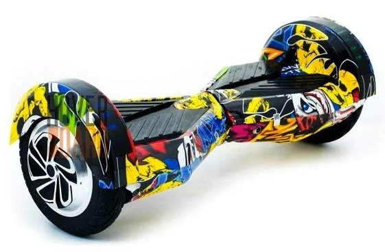 Гироборд Smart Balance 8 дюймов Хип Хоп Черепа самобаланс   гироскутер детский Смарт Баланс 8 LED фары