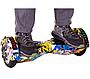 Гироборд Smart Balance 8 дюймов Хип Хоп Черепа самобаланс   гироскутер детский Смарт Баланс 8 LED фары, фото 3