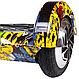 Гироборд Smart Balance 8 дюймов Хип Хоп Черепа самобаланс   гироскутер детский Смарт Баланс 8 LED фары, фото 6