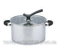 Набір кухонного посуду Edenberg з нержавіючої сталі, 6 предметів, фото 2