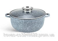 Набор кухонной посуды Edenberg  серого цвета, 14 предметов, фото 4