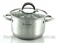 Набір кухонного посуду Edenberg з глибокої сковородою і сотейник, 12 предметів, фото 2