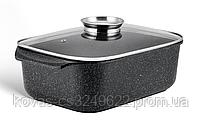 Гусятниця Edenberg прямокутна з мармуровим покриттям - 6.5 л / 32х22х11см, фото 3