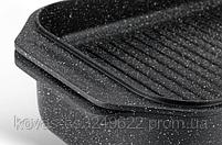 Гусятниця Edenberg прямокутної форми з мармуровим покриттям - 6.5 л / 32x22x11 см, фото 3