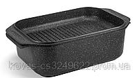 Гусятница Edenberg прямоугольной формы с мраморным покрытием - 8 л / 41.5 x 25.5 x 17см, фото 7