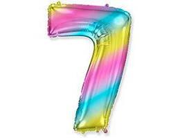 Цифра 7 Flexmetal градієнт
