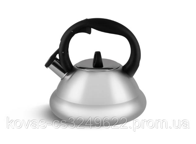 Чайник Edenberg EB-8814 со свистком из нержавеющей стали 3 л | Свистящий металлический чайник