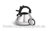 Чайник со свистком 3л из нержавеющей стали Edenberg EB-8824 Чайник для индукционной плиты Чайник газовый, фото 3