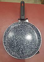 Сковорода блинная для индукционных плит с гранитным покрытием Edenberg, фото 3