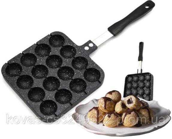 Шариковая сковорода для пончиков Edenberg