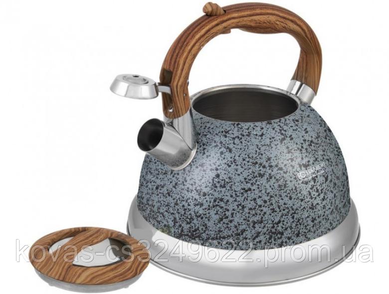Чайник Edenberg со свистком 3.0 л Дерево EB-1986