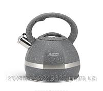 Чайник Edenberg из нержавеющей стали со свистком 3.0 л  (EB-2475), фото 2