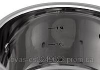 Набір Кухонного посуду 6 Предметів 1.9/1.9/2.7/3.6/6.5/3.4 Лтр. EB-7701, фото 7