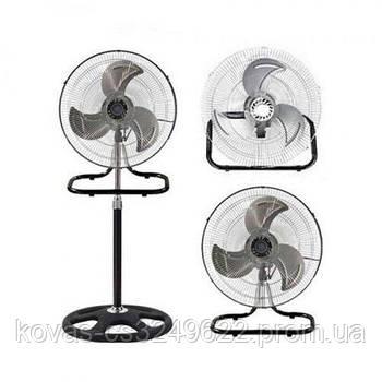 Вентилятор DOMOTEC MS - 1622, Вентилятор 3в1 напольный-настенный-настольный, диаметр 50см