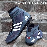 Борцовки, взуття для боксу Adidas Mat Wizard 3. Взуття для боротьби, боксу., фото 1