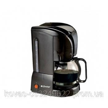Кофемашина капельная кофеварка LIVSTAR LSU-1188, 850 Вт на 1,5 л (10-12 чашок)