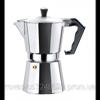 Гейзерная кофеварка 150мл 3 чашки Edenberg EB-3781