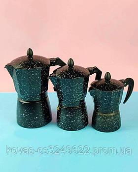 Гейзерная кофеварка 450мл 9 чашек Edenberg EB-3786