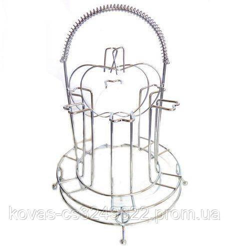 Підставка для сушіння чашок Frico FRU-548 - на 6 шт