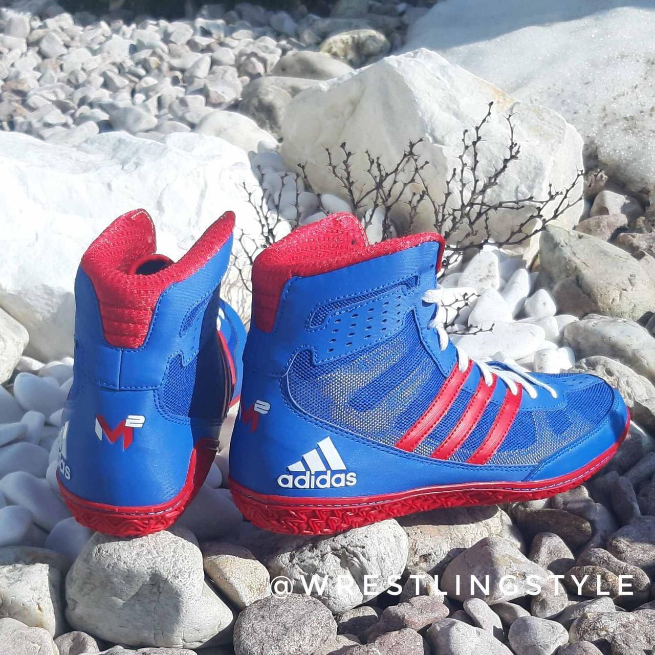 Борцовки, взуття для боксу Adidas Mat Wizard 3. Взуття для боротьби, боксу.