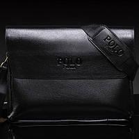 Мужская кожаная сумка Polo. Модель 4222.