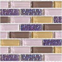 Плитка Мозаика Mozaico de LUX S-MOS CHT05(CT05) BRICK LILA 218309
