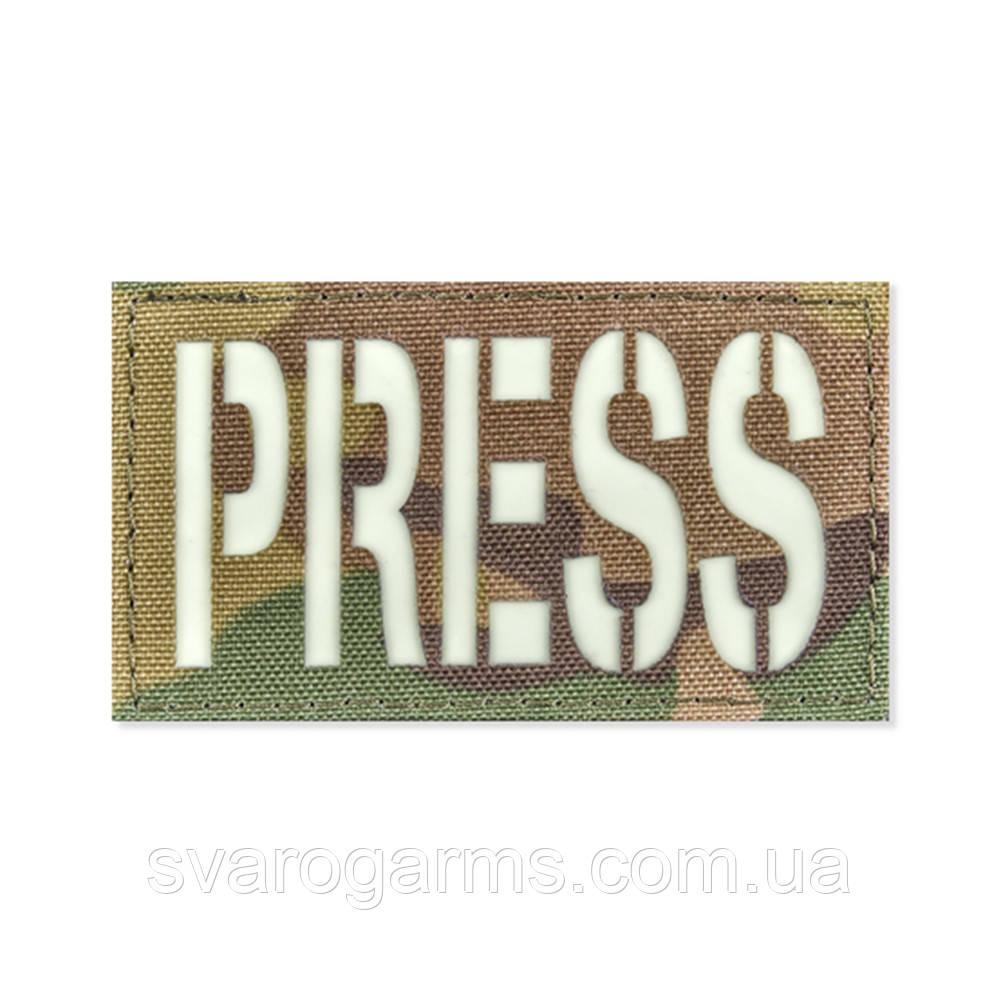Светонакопительный патч PRESS 45*80 V-Camo