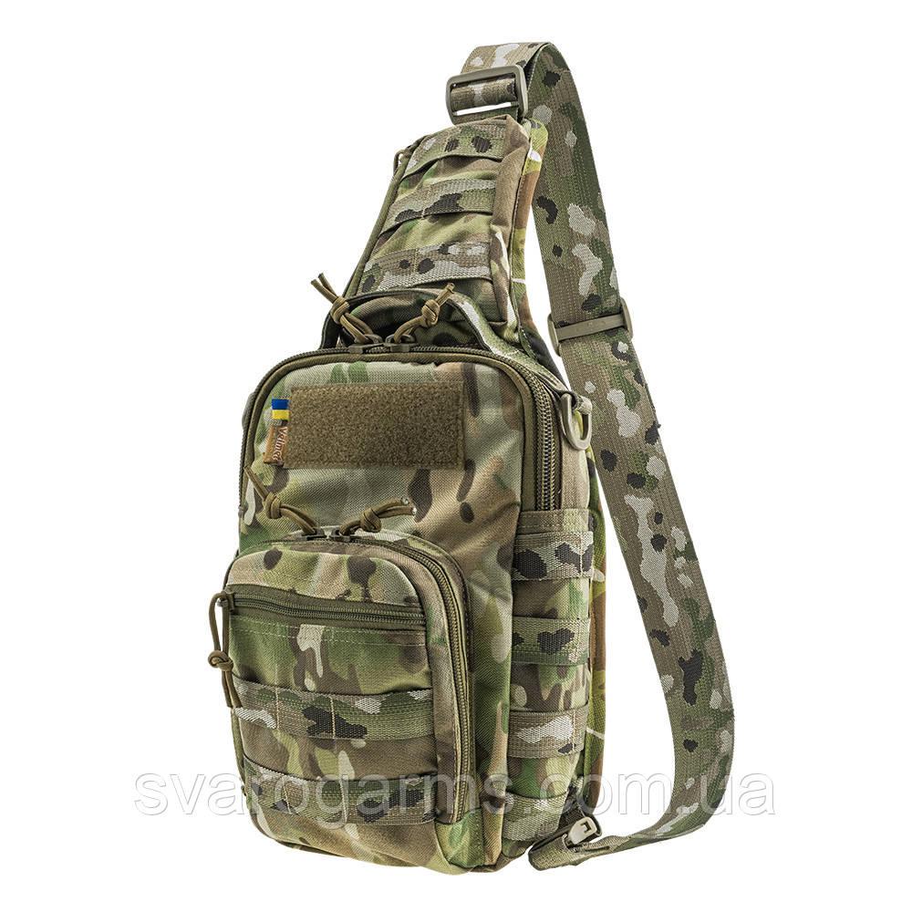 Тактическая плечевая сумка EDC M V-Camo