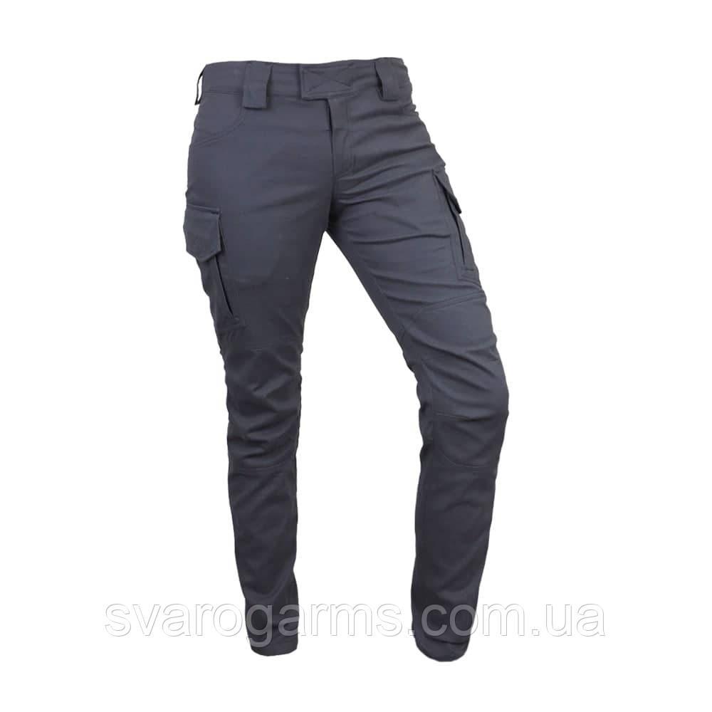 Женские тактические штаны SlaWa Line Cotton Twill Gray