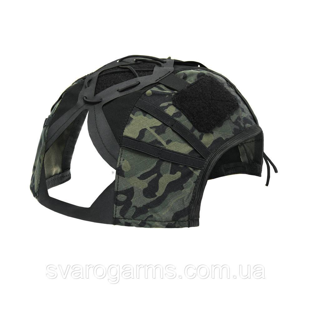 Кавер (чехол) на тактический шлем G4\HP MaWka® Raven