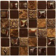 Плитка Мозаика Mozaico de LUX S-MOS HS0168 177526