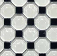 Плитка Мозаика Mozaico de LUX T-MOS HEXAGON1 215280