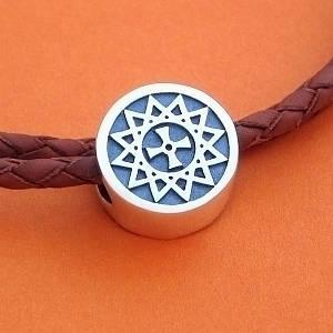 Звезда Эрцгаммы бусина из серебра 925 пробы
