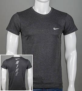 Футболка мужская NIKE (2048м), Темно-серый меланж