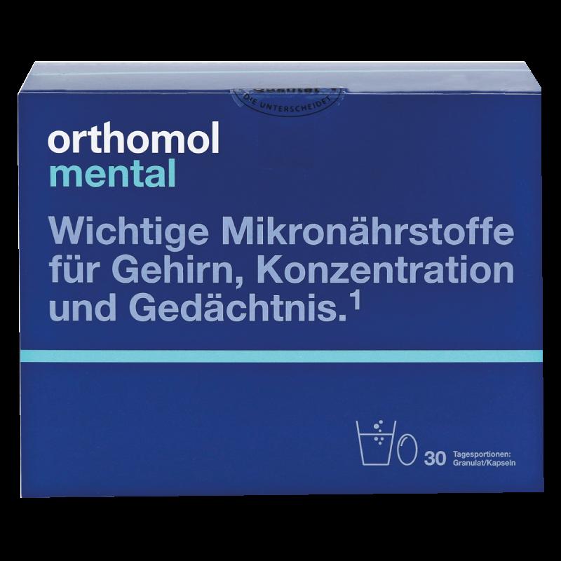 Вітаміни Ортомол Ментал на 30 днів Orthomol Mental (5324854)