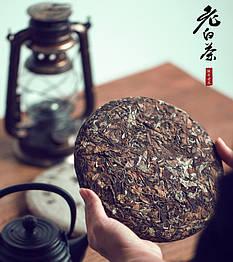 Белый чай Фудин Шоумэй блин 2012 года