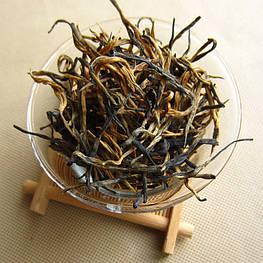 Красный чай Юньнань Дяньхун премиум весенний чай с медовым ароматом 2021 года