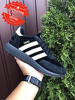 Кроссы мужские Adidas Iniki повседневные кроссовки адидас иники черные