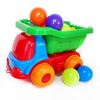 Машинка Шмелек 2 кульками 12 шт тм KinderWay