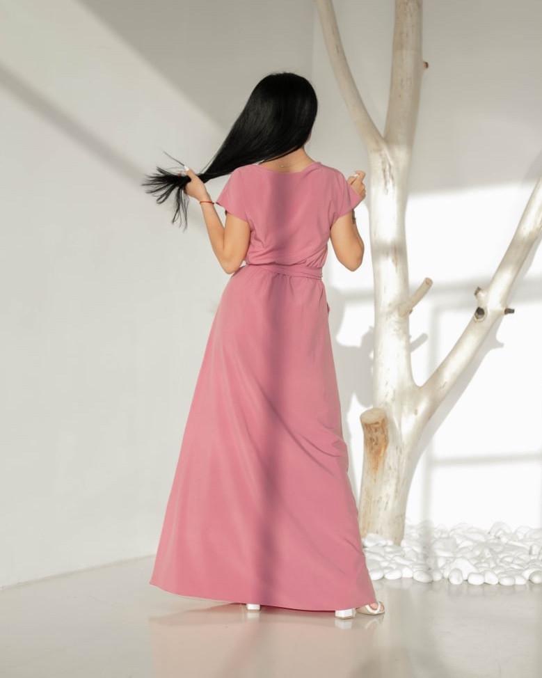 """Очаровательное летнее платье  """"310"""" розовый тон Размеры 44-46,48-50,52-54."""