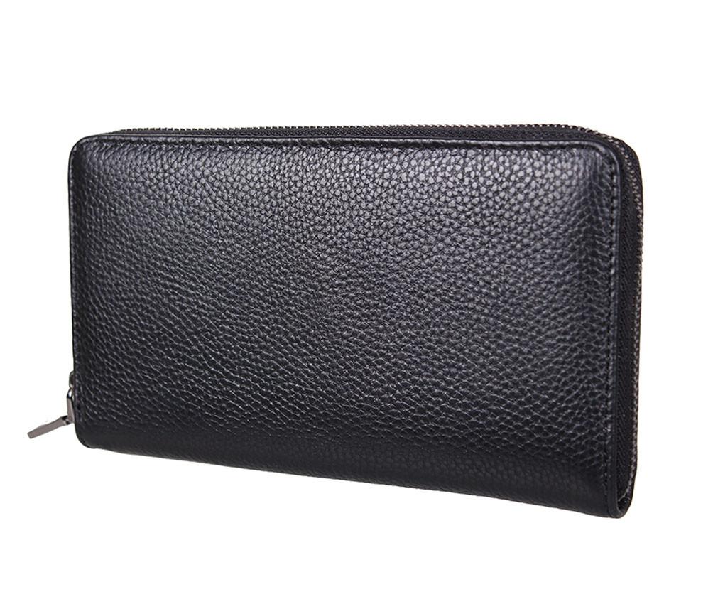 Мужской кожаный клатч BLACK8332 Черный